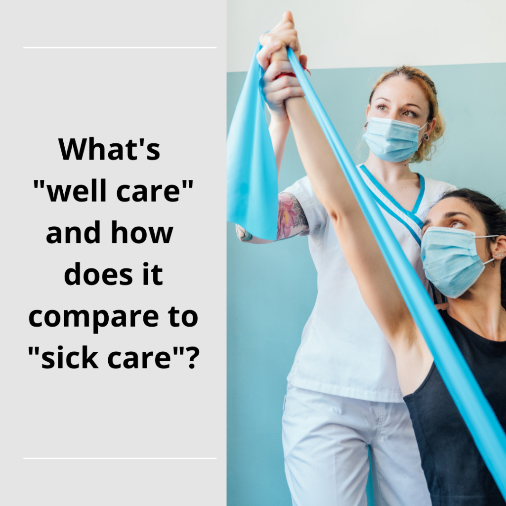 """Insurers Are Moving From """"Sick-care"""" to """"Well-care"""""""